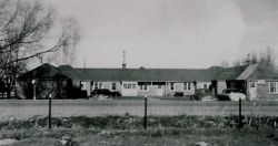 old photo of the original Motel West.
